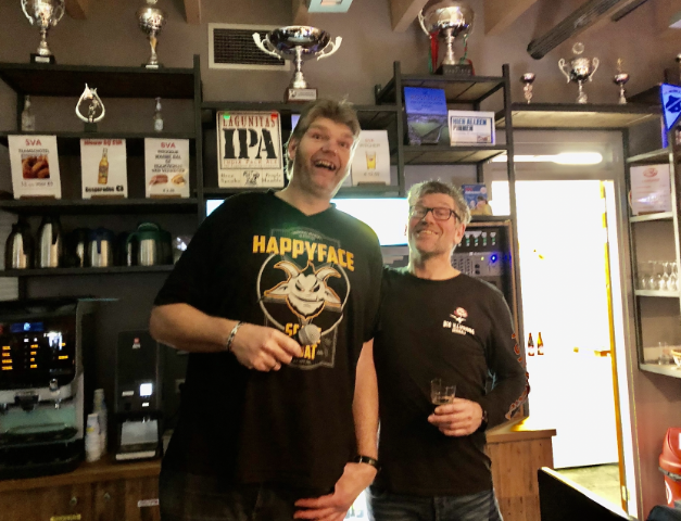 Bierproeverij voor voetballers druk bezocht