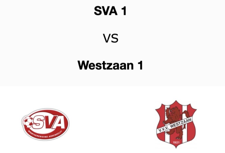 SVA - Westzaan en 1 minuut stilte