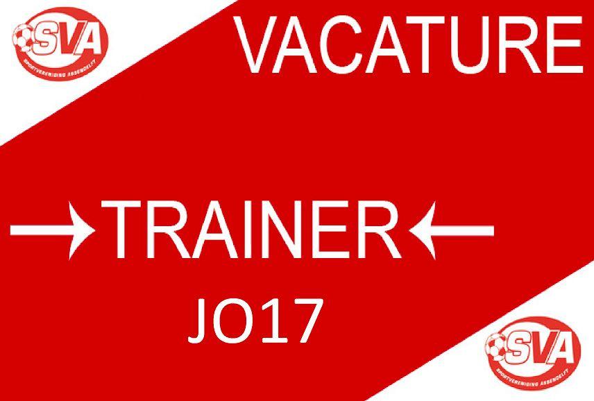 Vacature Hoofdtrainer JO17